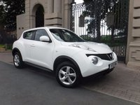 USED 2013 13 NISSAN JUKE 1.6 VISIA 5d 93 BHP ****FINANCE ARRANGED***PART EXCHANGE**16 INCH ALLOY WHEELS*AIR CON**