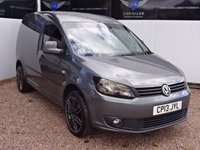 2013 VOLKSWAGEN CADDY 1.6 C20 TDI HIGHLINE 1d AUTO 101 BHP £11495.00