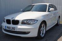 2011 BMW 1 SERIES 2.0 116D SPORT 5d 114 BHP £7495.00