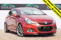 """USED 2013 63 VAUXHALL CORSA 1.6 VXR NURBURGRING EDITION 3d 202 BHP *£0 DEPOSIT FINANCE AVAILABLE*SECURE WITH A £99 FULLY REFUNDABLE DEPOSIT* TOUCH CONNECT, SATELLITE NAVIGATION, BLUETOOTH CONNECTION, CRUISE CONTROL, AUX PORT, ELECTRIC WINDOWS, 18"""" V SPOKE ALLOYS, WIND DEFLECTORS, AIR CON, FULL SERVICE HISTORY + 12 MONTHS MOT"""
