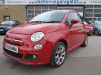 USED 2014 14 FIAT 500 1.2 S 3d 69 BHP ONLY 1 OWNER