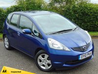 USED 2010 10 HONDA JAZZ 1.3 I-VTEC ES 5d * 128 POINT AA INSPECTED * 12 MONTHS FREE AA BREAKDOWN COVER *