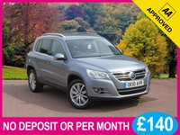 USED 2010 10 VOLKSWAGEN TIGUAN 2.0 SPORT TDI 4MOTION 5dr PRICE CHECKED DAILY – WHY PAY MORE ??