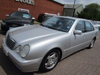 USED 2000 MERCEDES-BENZ E CLASS 3.2 E320 CDI AVANTGARDE 4d AUTO 194 BHP 1 OWNER FROM NEW