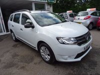 USED 2016 66 DACIA LOGAN MCV 1.1 AMBIANCE 5d 73 BHP Low Mileage, One Lady Owner from new, Balance of Dacia Extended Warranty until 2021 (or 60,000 miles)