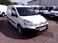 USED 2014 14 CITROEN BERLINGO 1.6 625 LX L1 HDI 75 BHP