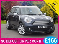USED 2013 62 MINI COUNTRYMAN 1.6 COOPER D ALL4 5dr CHILI PACK CHILI PACK PAN ROOF LEATHER