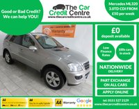 USED 2008 08 MERCEDES-BENZ M CLASS 3.0 ML320 CDI SE 5d AUTO 222 BHP