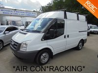 USED 2011 11 FORD TRANSIT 2.2 TDCi SWB Semi High 280 **AIR CON*RACKING*P/SENSORS*