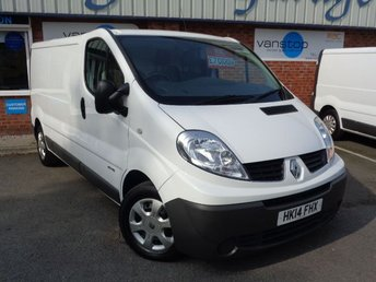 2014 RENAULT TRAFIC 2.0 LL29 DCI S/R P/V 1d 115 BHP £7000.00