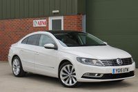 USED 2015 15 VOLKSWAGEN CC 2.0 GT TDI BLUEMOTION TECHNOLOGY 4d 138 BHP FULL LEATHER INTERIOR, HEATED SEATS, PANORAMIC ROOF, SAT NAV