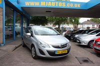 USED 2011 11 VAUXHALL CORSA 1.4 EXCLUSIV AC 5dr 98 BHP ZERO DEPOSIT FINANCE .....DRIVE AWAY TODAY
