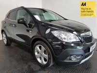 USED 2014 14 VAUXHALL MOKKA 1.6 SE S/S 5d 113 BHP FSH-1 OWNER-LEATHER-BLUETOOTH-A/C