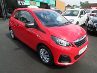 USED 2015 15 PEUGEOT 108 1.0 ACCESS 3d 68 BHP ** 01543 379066 ** JUST ARRIVED ** FULL SERVICE HISTORY **