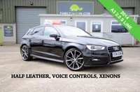 USED 2014 AUDI A3 2.0 TDI S LINE 5d 148 BHP *FROM £179 MONTHLY*