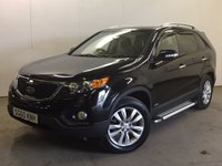 USED 2010 60 KIA SORENTO 2.2 CRDI KX-3 5d 195 BHP 4WD 7 SEATER PAN ROOF LEATHER FSH NOW SOLD.
