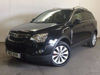 USED 2013 13 VAUXHALL ANTARA 2.2 DIAMOND CDTI S/S 5d 161 BHP 4WD LEATHER ONE OWNER FSH 4WD. STUNNING BLACK MET WITH FULL BLACK LEATHER TRIM. ELECTRIC HEATED SEATS. CRUISE CONTROL. 18 INCH ALLOYS. COLOUR CODED TRIMS. PRIVACY GLASS. PARKING SENSORS. BLUETOOTH PREP. CLIMATE CONTROL. R/CD PLAYER. 6 SPEED MANUAL. MOT 06/18. ONE OWNER FROM NEW. FULL SERVICE HISTORY. PRISTINE CONDITION. FCA FINANCE APPROVED DEALER. TEL 01937 849492.