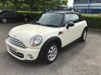 USED 2011 61 MINI CONVERTIBLE 2.0 COOPER D 2d AUTO 110 BHP