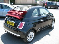 USED 2013 13 FIAT 500 1.2 C LOUNGE 3d 69 BHP Bluetooth. Half Leather. Alloys. Air conditioning.
