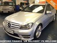 USED 2011 C MERCEDES-BENZ C 250 CDI SPORT EDITION AUTO START/STOP FSH - SAT NAV - LOW MILEAGE - LEATHER