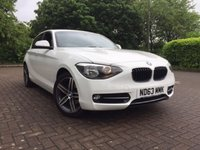 USED 2013 63 BMW 1 SERIES 2.0 118D SPORT 5d 141 BHP
