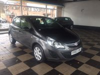 USED 2012 62 VAUXHALL CORSA 1.2 EXCLUSIV AC CDTI ECOFLEX S/S 5d 73 BHP EXCELLENT FUEL ECONOMY!!..LOW CO2 EMISSIONS..£20 ROAD TAX..FULL HISTORY!...WITH AIR CONDITIONING!!..