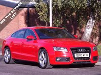 USED 2010 10 AUDI A5 3.0 TDI S Line Sportback S Tronic Quattro 5dr See Extras list on this car