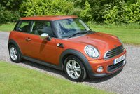 2013 MINI HATCH ONE 1.6 ONE 3d 98 BHP £6795.00