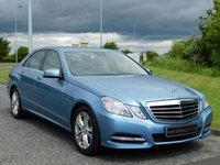 2010 MERCEDES-BENZ E CLASS 2.1 E250 CDI BLUEEFFICIENCY AVANTGARDE 4d AUTO 204 BHP £11490.00