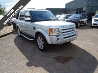 USED 2008 58 LAND ROVER DISCOVERY 2.7 3 TDV6 HSE 5d AUTO 188 BHP 7 SERVICE STAMPS HIGH SPEC SERVICED AT 22146M 35580M 49156M 55789M 62705M 72413 AND A RECENT SERVICE AT 75630M THIS CAR IS A CREDIT TO ITS LAST OWNER WITH GREAT SPECIFICATION