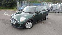 2014 MINI CLUBMAN 1.6 ONE 5d 98 BHP £8997.00