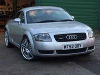 2002 AUDI TT 1.8 QUATTRO 3d 221 BHP £3695.00