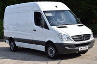 2013 MERCEDES-BENZ SPRINTER 2.1 313 CDI MWB 5d 129 BHP H/ROOF RWD DIESEL PANEL MANUAL VAN £9750.00