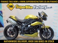 USED 2012 62 TRIUMPH SPEED TRIPLE 1050  GOOD & BAD CREDIT ACCEPTED, OVER 500+ BIKES