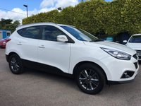 USED 2014 14 HYUNDAI IX35 1.7 SE NAV CRDI 5d  SAT NAV AND IN THE BEST COLOUR! NO DEPOSIT PCP/HP FINANCE ARRANGED, APPLY HERE NOW