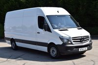 2014 MERCEDES-BENZ SPRINTER 2.1 313 CDI LWB 5d 129 BHP EURO 5 RWD H/ROOF DIESEL PANEL MANUAL VAN £10750.00