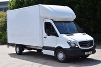 2015 MERCEDES-BENZ SPRINTER 2.1 313 CDI 2d 129 BHP RWD LWB HIGH ROOF TAIL LIFT DIESEL LUTON MANUAL VAN  £13990.00