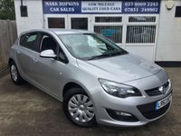 USED 2013 63 VAUXHALL ASTRA 1.7 EXCLUSIV CDTI ECOFLEX S/S 5d 110 BHP 65K FSH  JUST ONE OWNER   F / REAR PARK ALERT  EXCELLENT CONDITION