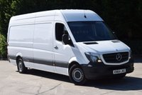 2014 MERCEDES-BENZ SPRINTER 2.1 313 CDI LWB 5d 129 BHP EURO 5 RWD H/ROOF DIESEL PANEL MANUAL VAN £11750.00