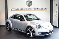 USED 2013 62 VOLKSWAGEN BEETLE 2.0 SPORT TDI 3DR 139 BHP + SERVICE HISTORY + SPORT SEATS + CRUISE CONTROL + DAB RADIO + AUXILIARY PORT + HEATED MIRRORS + PARKING SENSORS + 18 INCH ALLOY WHEELS +