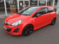 USED 2012 62 VAUXHALL CORSA 1.2 LIMITED EDITION 3dr 83 BHP