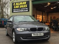 USED 2008 58 BMW 1 SERIES 2.0 118D EDITION ES 3d 141 BHP