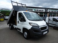 USED 2015 15 PEUGEOT BOXER 2.2 HDI 335 130 BHP LOW 3000 MILES ALLOY TIPPER  LOW 3000 MILES 1 OWNER FROM NEW