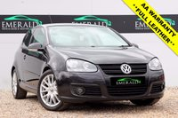 USED 2008 08 VOLKSWAGEN GOLF 1.4 GT SPORT TSI 3d 168 BHP **£0 DEPOSIT FINANCE AVAILABLE**SECURE WITH A £99 FULLY REFUNDABLE DEPOSIT**FULL LEATHER UPHOLSTERY, HEATED FRONT SEATS, CD PLAYER, ELECTRIC WINDOWS, HEATED WING MIRRORS, FULL SERVICE HSITORY, FULL MOT