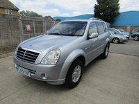 2009 SSANGYONG REXTON 2.7 270 S 5d AUTO 162 BHP £4995.00