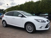 USED 2012 12 FORD FOCUS 1.0 ECOBOOST ZETEC 5d APPEARANCE PACK  NO DEPOSIT FINANCE ARRANGED, APPLY HERE NOW
