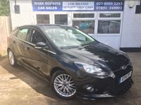 USED 2014 14 FORD FOCUS 1.6 ZETEC S TDCI 5d 113 BHP 41K FSH  JUST ONE OWNER  STOP/START  EXCELLENT CONDITION