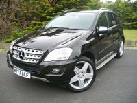 USED 2009 09 MERCEDES-BENZ M CLASS 3.0 ML320 CDI SPORT 5d AUTO 222 BHP JUST Two Careful Owners From New, ONLY 28,000 Miles From New with Full Mercedes Dealership Service History, £7000 Additional Optional Extras.