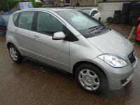 2010 MERCEDES-BENZ A CLASS 1.5 A160 CLASSIC SE 5d AUTO 95 BHP £5250.00