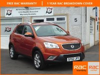 USED 2012 62 SSANGYONG KORANDO 2.0 EX 5d AUTO 175 BHP Ful Leather , Sat Nav , 4 Service Stamps,AWD